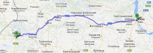 Попутные грузоперевозки Киев - Львов